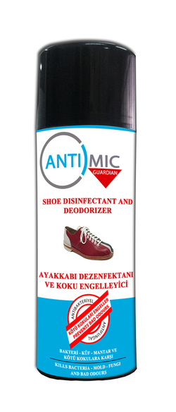 Antimic-Guardian Shoe Disinfectant and Deodorizer - Antimic-Guardian